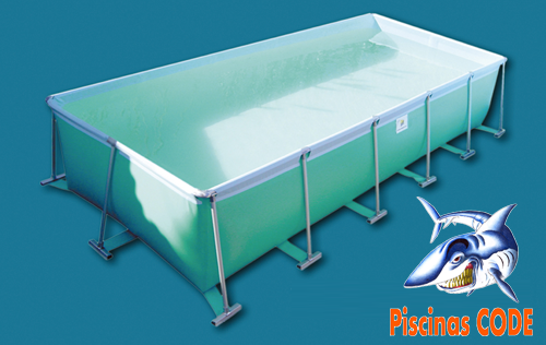Piscinas desmontables piscinas code for Piscina desmontable rectangular 3x2