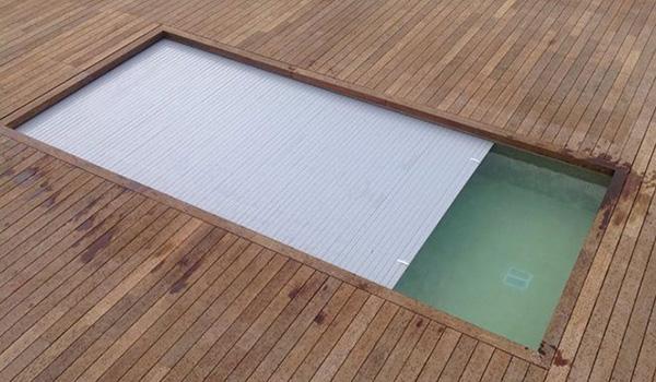 Cubierta autom tica para piscina piscinas code for Piscina con cubierta