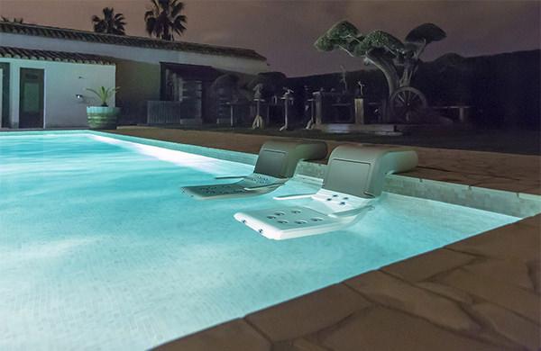 hidromasaje piscina con sillon Water Spa Divan